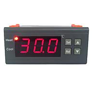 30A 220V digitális LCD hőmérséklet-szabályozó hőelem érzékelővel