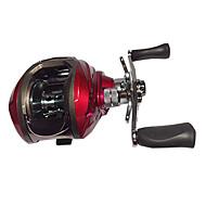 Carrete de la pesca Carretes de lanzamiento 6.3:1 8.0 Rodamientos de bolas -ManosPesca de Mar / Pesca de baitcasting / Pesca de agua