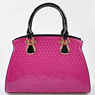 Fashion Patent Leather Emboss Tote