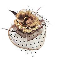 Women's Feather/Fabric Headpiece - Casual Fascinators
