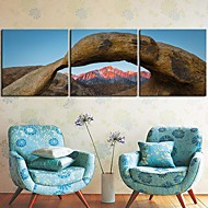 Canvas Art Landscape Kilimanjaro Mountain Conjunto de 3