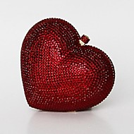 Damen - Abendtasche - PU Rot