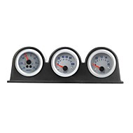 Triple Three auto bil Gauge Meter Pod Holder Cup Mount 2 52mm