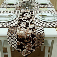 Velours de coupe de Turquie Parchwork style Chemin de Table