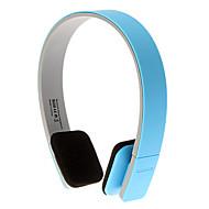 auriculares bluetooth 3.0 sobre la oreja control de volumen deportes estéreo de alta fidelidad para el iphone / android (azul)