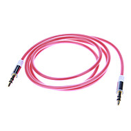 Audio jack de 3.5mm Cable de conexión (1.04m rojo)