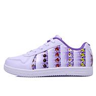 dw ältere Kinder weichen lässig Bord Schuhe (weiß und lila)
