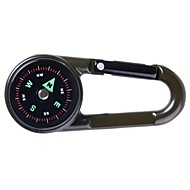 High Quality Dobbelt Stillet Key Chain Compass + Termometer