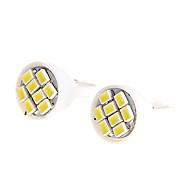 2PCS Ultra Blanc 8SMD LED 3020 T10 Wedge Ampoule Side ampoule lampe pour la moto