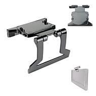 Portátil TV Clipe Bracket Mount Holder Para Xbox 360 Kinect Sensor - Preto