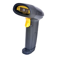 USB Wired Desktop / Smartphones Barcode Scanner laser avec support - Noir