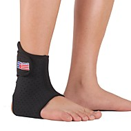 Ankle Brace Sports Support Breathable Adjustable Thermal / Warm Camping & Hiking Running Black