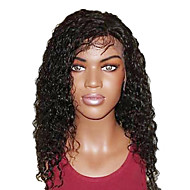 16 Inch  Super Curly Remy Human Hair Full Lace Wig  Swiss Lace 130 Density More Color Available