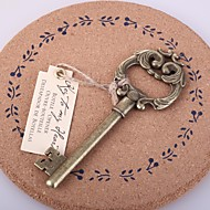 """Key to My Heart"" abridor de garrafas Antique"