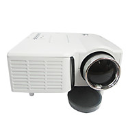 AAO® LCD Miniprojektor QVGA (320x240) 500 Lumens LED 4:3,16:9