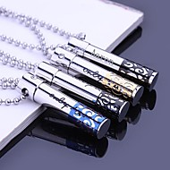 Personalized Gift Hollow Stainless Steel Jewelry  Engraved Pendant Necklace with  60cm Chain