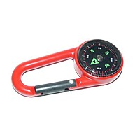 Utendørs Portable Zinc Alloy Compass - Red