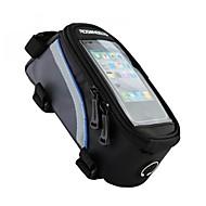 ROSWHEEL® Bike Bag 1.5LFahrradrahmentasche / Handy-Tasche Wasserdicht / Reflexstreifen / Skifest / tragbar / Touchscreen / Telefon/Iphone