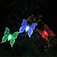 Solar Color-Změna Butterfly Garden Vklad Light