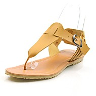 Women's Flat Heel Flip Flops Sandals With Buckle Shoes(More Colors)