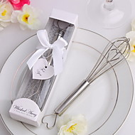 Silver Kitchen Whisk in Gift Box with a Tag