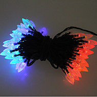 100 Colorful Outdoor Led Solar Fairy Lights Christmas Decor Lamp Gifts