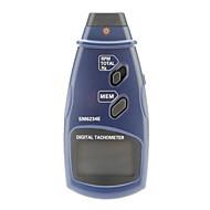Professionel Digital Laser Photo Berøringsfri omdrejningstæller RPM Tach Gauge (2,5 ~ 99999 RPM, 0.1RPM)