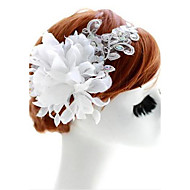 Women's/Flower Girl's Lace/Fabric Headpiece - Wedding/Special Occasion Flowers