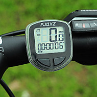 FJQXZ de alta qualidade à prova d'água com fio Preto bicicleta Velocímetro / cronômetro
