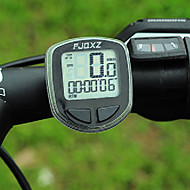 FJQXZ Portable Wireless LCD Sort Sykkel Speedometer / Stoppeklokke