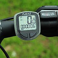 FJQXZ Bærbare Wireless LCD Black Cykel Speedometer / stopur
