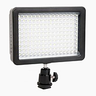 WanSen W160 LED Video Light Lamp 12W 1280LM 5600K/3200K Dimbare voor Canon Nikon Pentax DSLR Camera Video Light Groothandel