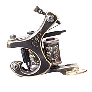 FTTATTOO ® ЧПУ Точная Carving Бронзовый Tattoo Machine Gun