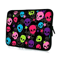 """Multicolor Skulls Pattern Laptop Sleeve Case for 15.4"""" MacBook Pro/Pro with Retina Display"""