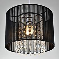 40W Contemprâneo Cristal / LED Cromado Metal Luzes Pingente Quarto / Sala de Jantar