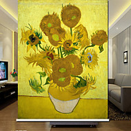 Country Blooming Sunflowers Roller Shade