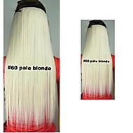 Clips di vendita caldi Qualità Colour colorato scuro Broen pallido Capelli biondi Extension ragazza