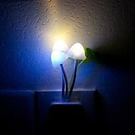 Capteur de lumière de nuit LED RGB Colorful Dream champignons