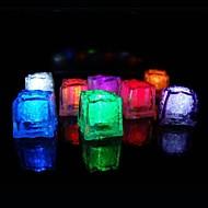 Fête de Noël Mariage lumière 36pcs Changement de couleur Glaçons LED Bar Restaurant