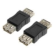 USB 2.0 aljzat női adapterek csatolók