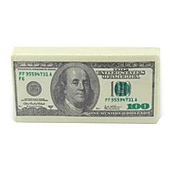 "Dollar Money Style Tissue Toilet Napkin Paper,100% virgin pulp 4.2""x2.2""x0.6"""