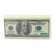 """dollar le style de l'argent papier toilette de tissu de serviette, 100% de pâte vierge 4.2 """"x 2,2"""" x0.6 """""""