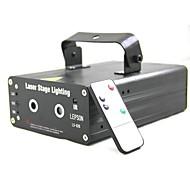 LT-LS628RGB 8 en 1 Projecteur laser vert rouge (1x projecteur laser 1x Panneau de contrôle)
