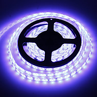 Waterproof 5M 60W 60x5730SMD 7000-8000lm 6000-7000K fresco luz branca LED Strip Light (DC12V)