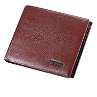 Personalized Leather Wallet With SD Card Slot
