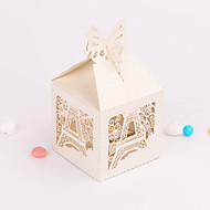 Tower Pattern Favor Boxes - Set of 12