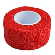 sports de plein air 2.5cm x 4.5m 12rolls/lot auto-adhésif non tissé bandage élastique cohésive (couleurs assorties)