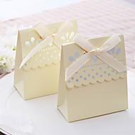 hellgelb überbacken süß zugunsten Box (Satz von 12)