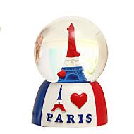 """3.2 """"Eiffelova věž a srdce vzor hudební box"""