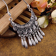 Necklace Statement Necklaces Jewelry Party / Daily / Casual Fashion Alloy Silver 1pc Gift